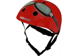 Helm Kiddi Moto Red Goggle